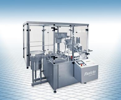 Flexicon FMB210: fully automatic filling and capping system