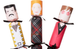 Sechs Christmas Crackers