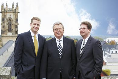 Generational change at HAVER & BOECKER: Florian Festge and Dr. Fabian Festge assume the duties of their father, Dr. Reinhold Festge, effective January 1, 2014