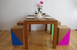m bel aus pappe interpack verpackungsmesse. Black Bedroom Furniture Sets. Home Design Ideas