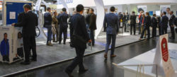 Foto: Ansicht Messehalle interpack