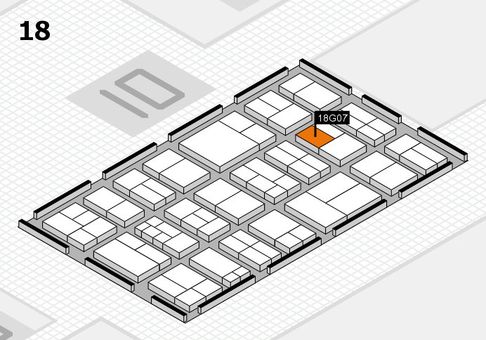 components 2017 hall map (Hall 18): stand G07