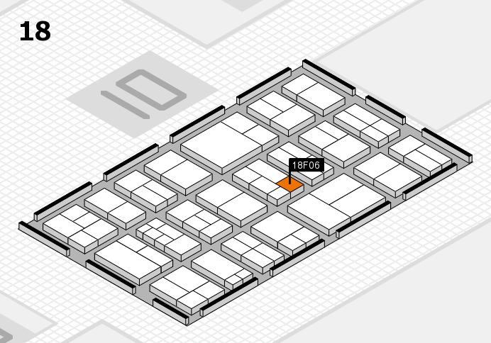components 2017 Hallenplan (Halle 18): Stand F06