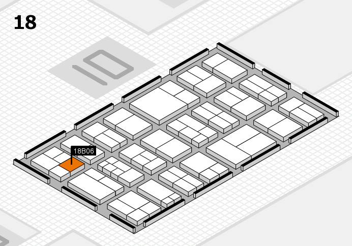 components 2017 hall map (Hall 18): stand B06