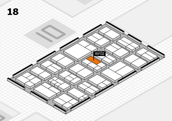 components 2017 Hallenplan (Halle 18): Stand F02