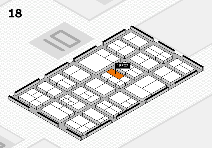 components 2017 hall map (Hall 18): stand F02