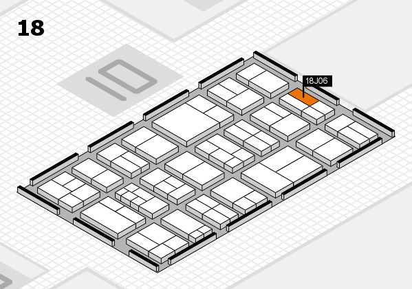 components 2017 hall map (Hall 18): stand J06