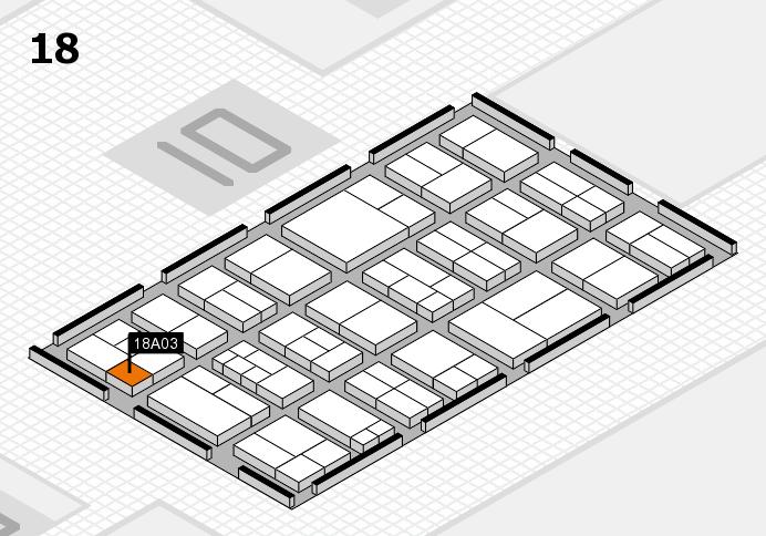 components 2017 Hallenplan (Halle 18): Stand A03