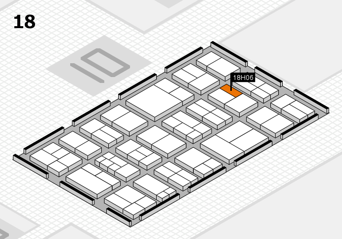 components 2017 Hallenplan (Halle 18): Stand H06