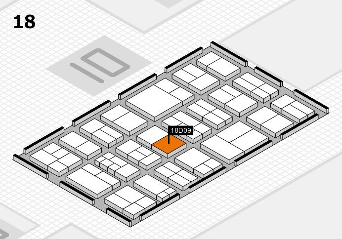components 2017 Hallenplan (Halle 18): Stand D09