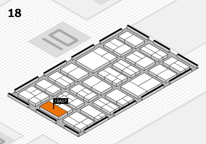 components 2017 Hallenplan (Halle 18): Stand A07