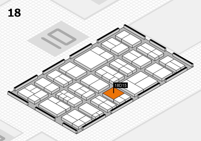 components 2017 Hallenplan (Halle 18): Stand D15