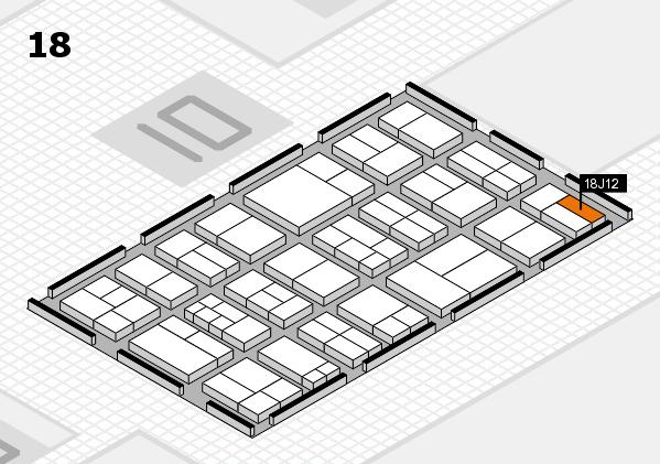 components 2017 Hallenplan (Halle 18): Stand J12