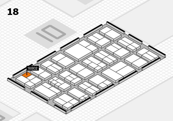 components 2017 Hallenplan (Halle 18): Stand B02