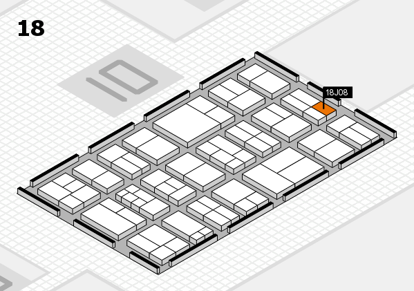 components 2017 Hallenplan (Halle 18): Stand J08