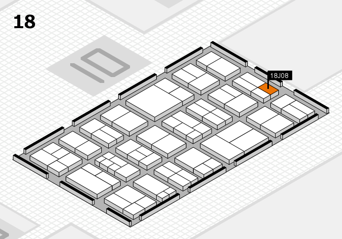 components 2017 hall map (Hall 18): stand J08