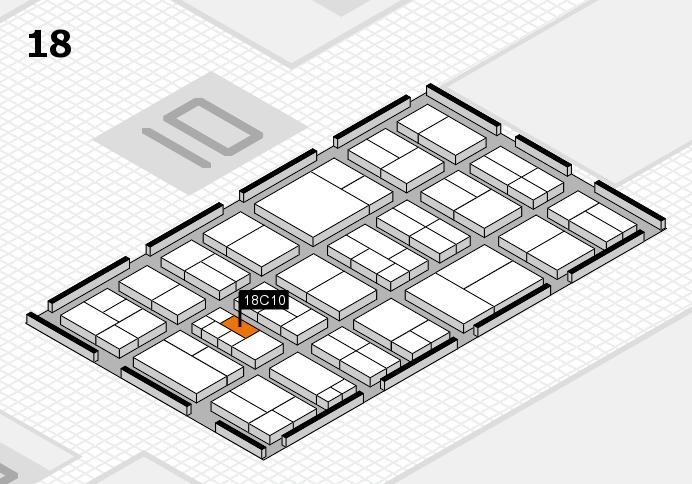 components 2017 Hallenplan (Halle 18): Stand C10