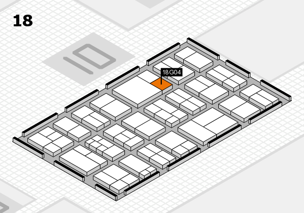components 2017 hall map (Hall 18): stand G04