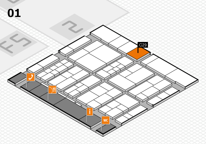 interpack 2017 hall map (Hall 1): stand C29