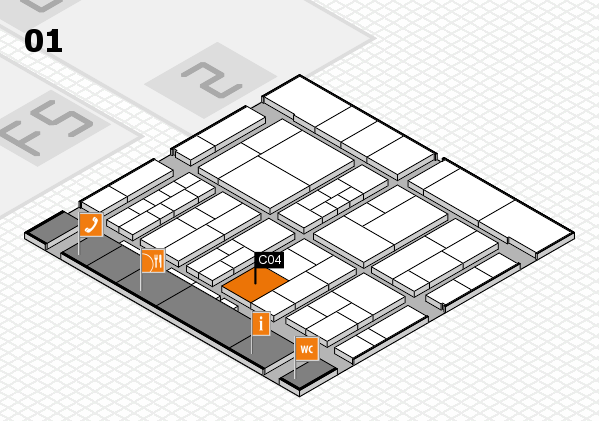 interpack 2017 hall map (Hall 1): stand C04