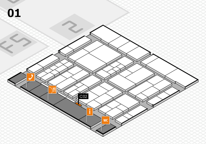 interpack 2017 hall map (Hall 1): stand C02