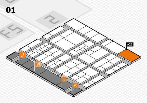 interpack 2017 hall map (Hall 1): stand A29