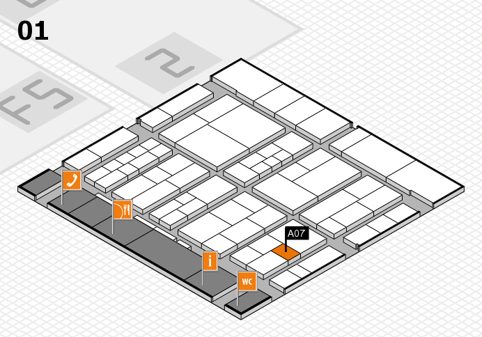 interpack 2017 hall map (Hall 1): stand A07