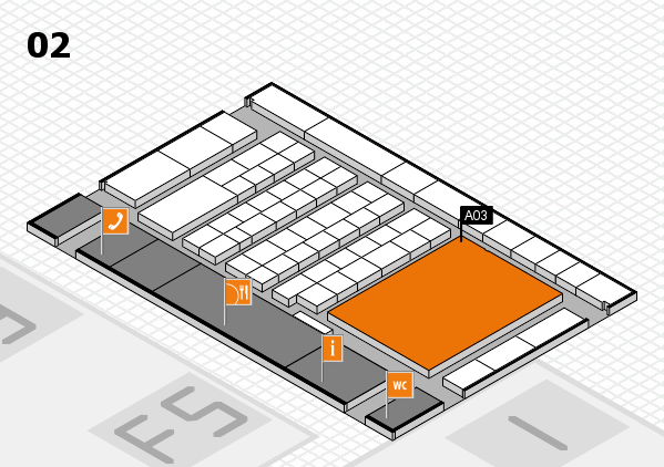 interpack 2017 hall map (Hall 2): stand A03