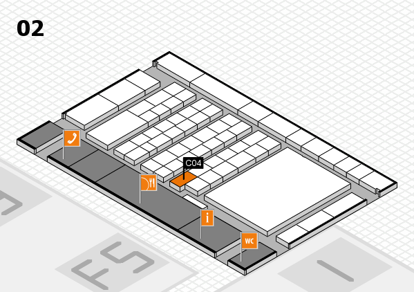 interpack 2017 hall map (Hall 2): stand C04