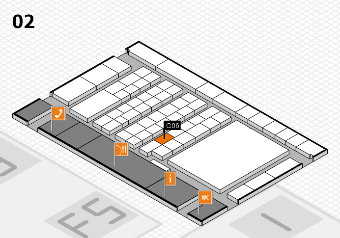 interpack 2017 hall map (Hall 2): stand C06