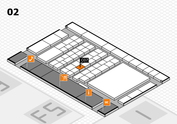interpack 2017 hall map (Hall 2): stand C07