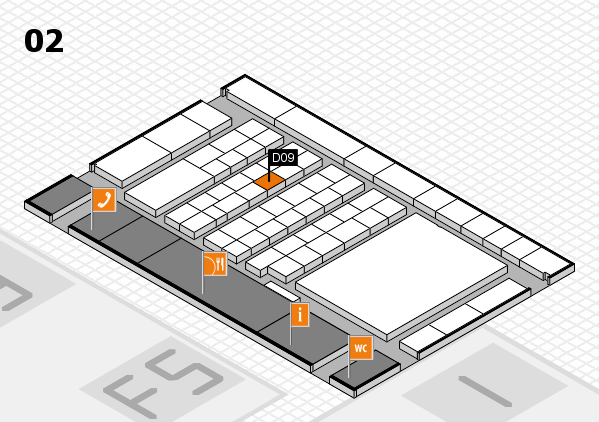 interpack 2017 hall map (Hall 2): stand D09