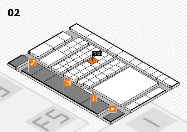 interpack 2017 hall map (Hall 2): stand D10