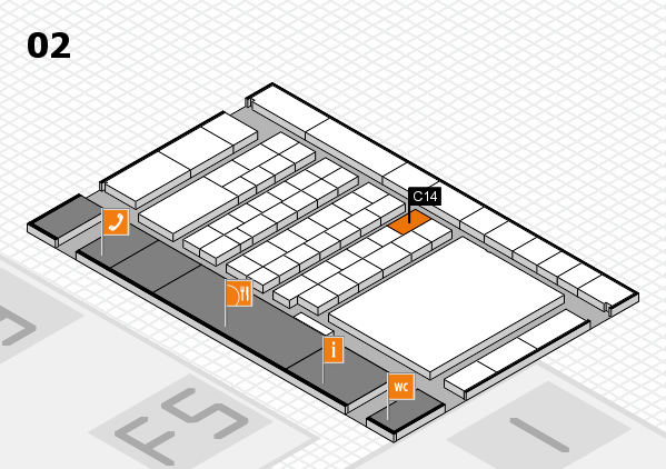 interpack 2017 hall map (Hall 2): stand C14