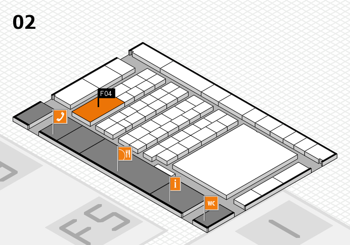 interpack 2017 hall map (Hall 2): stand F04