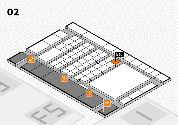 interpack 2017 hall map (Hall 2): stand B15