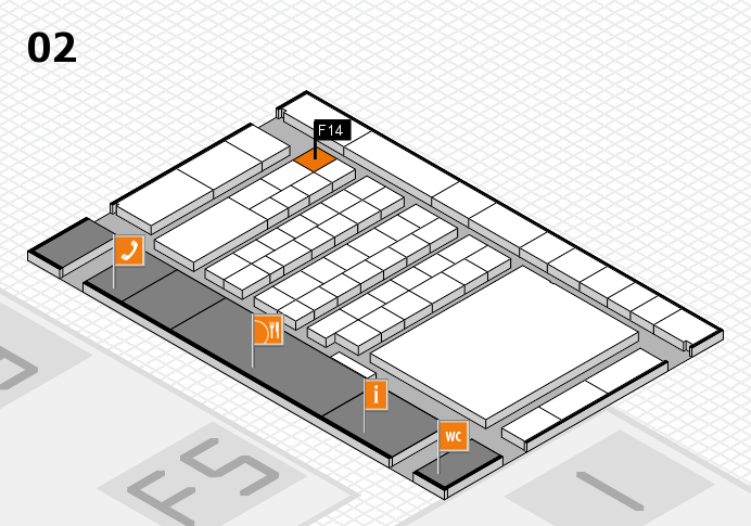 interpack 2017 hall map (Hall 2): stand F14