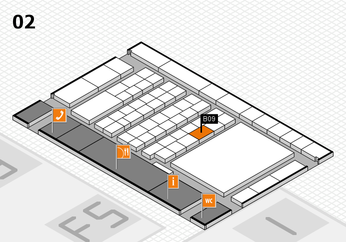 interpack 2017 hall map (Hall 2): stand B09