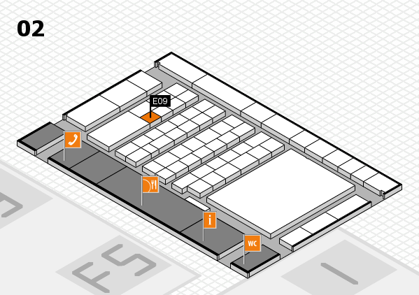 interpack 2017 hall map (Hall 2): stand E09