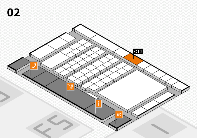 interpack 2017 hall map (Hall 2): stand C16