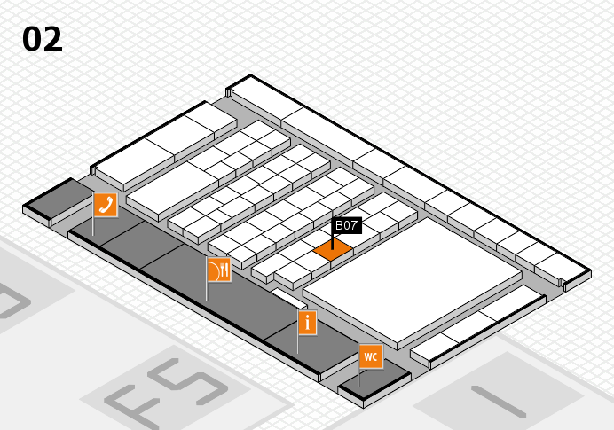 interpack 2017 hall map (Hall 2): stand B07
