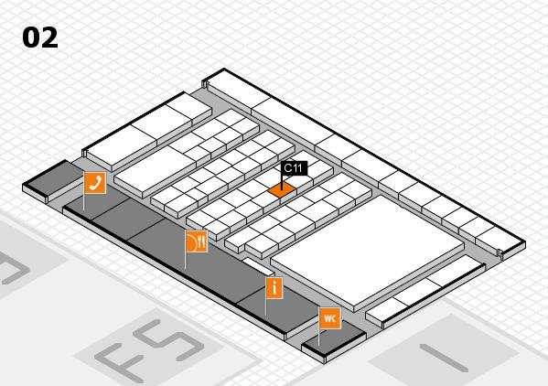 interpack 2017 Hallenplan (Halle 2): Stand C11