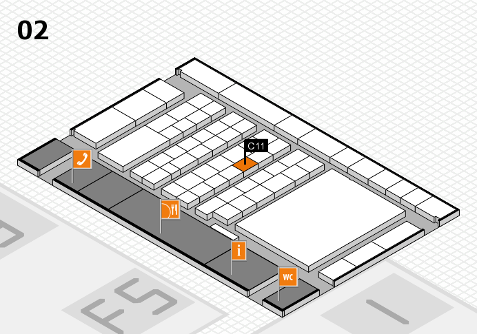 interpack 2017 hall map (Hall 2): stand C11
