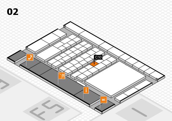 interpack 2017 Hallenplan (Halle 2): Stand C10
