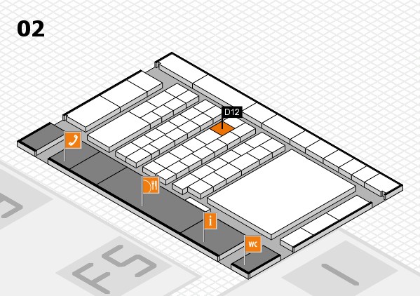 interpack 2017 hall map (Hall 2): stand D12