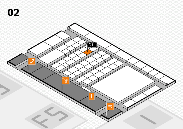 interpack 2017 hall map (Hall 2): stand D11