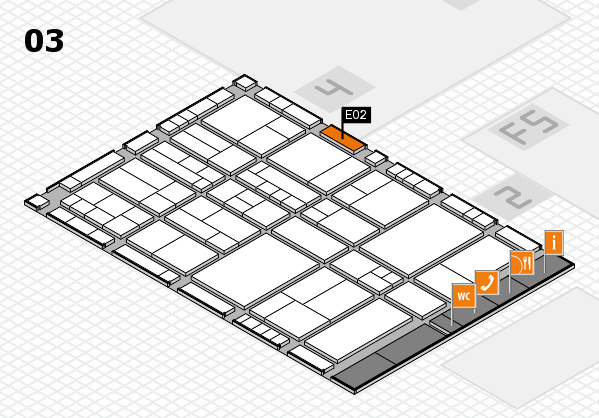 interpack 2017 hall map (Hall 3): stand E02