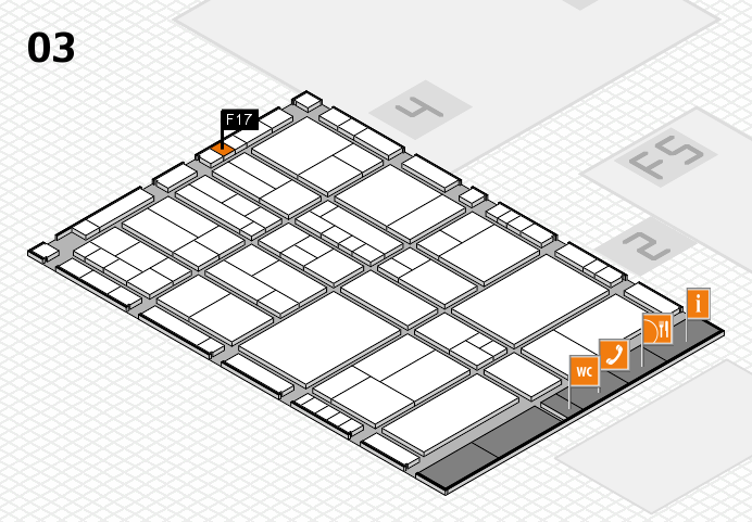 interpack 2017 hall map (Hall 3): stand F17