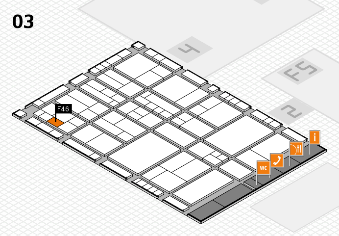 interpack 2017 hall map (Hall 3): stand F46