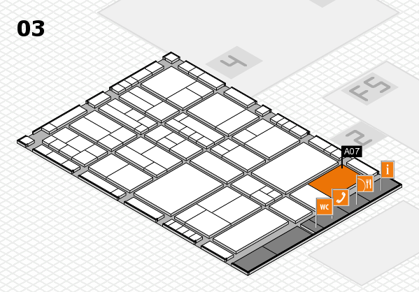 interpack 2017 hall map (Hall 3): stand A07